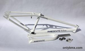 Ambiente Bikes Prospero 24″ Frame Set – Clean White