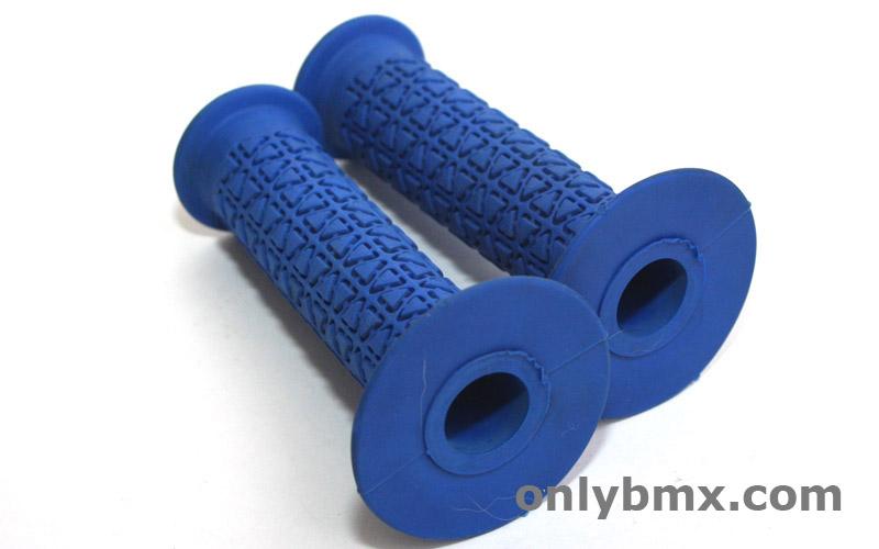 A'ME Round Blue BMX Grips
