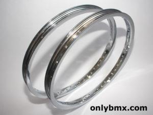 Araya 7X BMX Rims – 48 Hole – Chrome