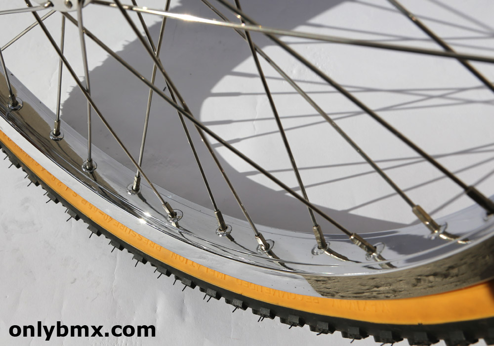Araya 7X and Crupi BMX Wheelset