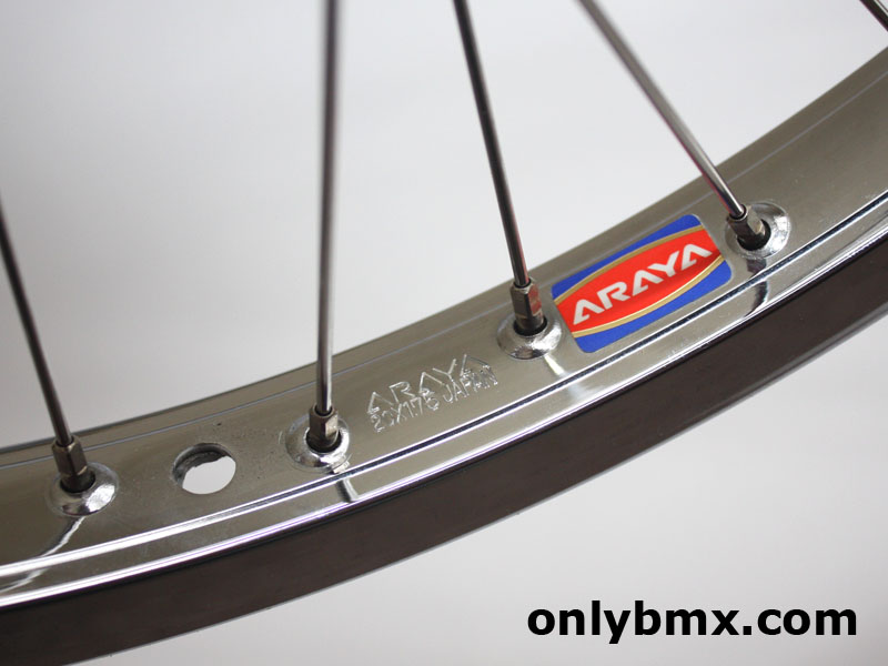 Araya 7X and Suzue BMX Wheels