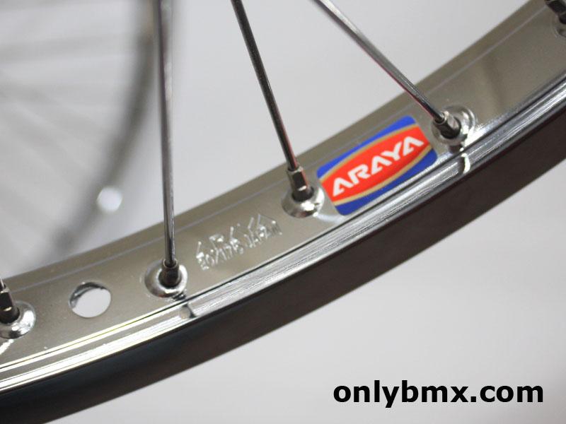 Araya 7X and Suzue BMX Wheels