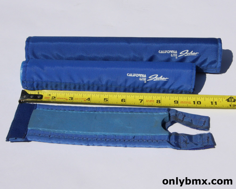 California Lite Blue BMX Pad Set