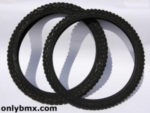 Cheng Shin BMX Knobby Tyres – Black – C183 – New