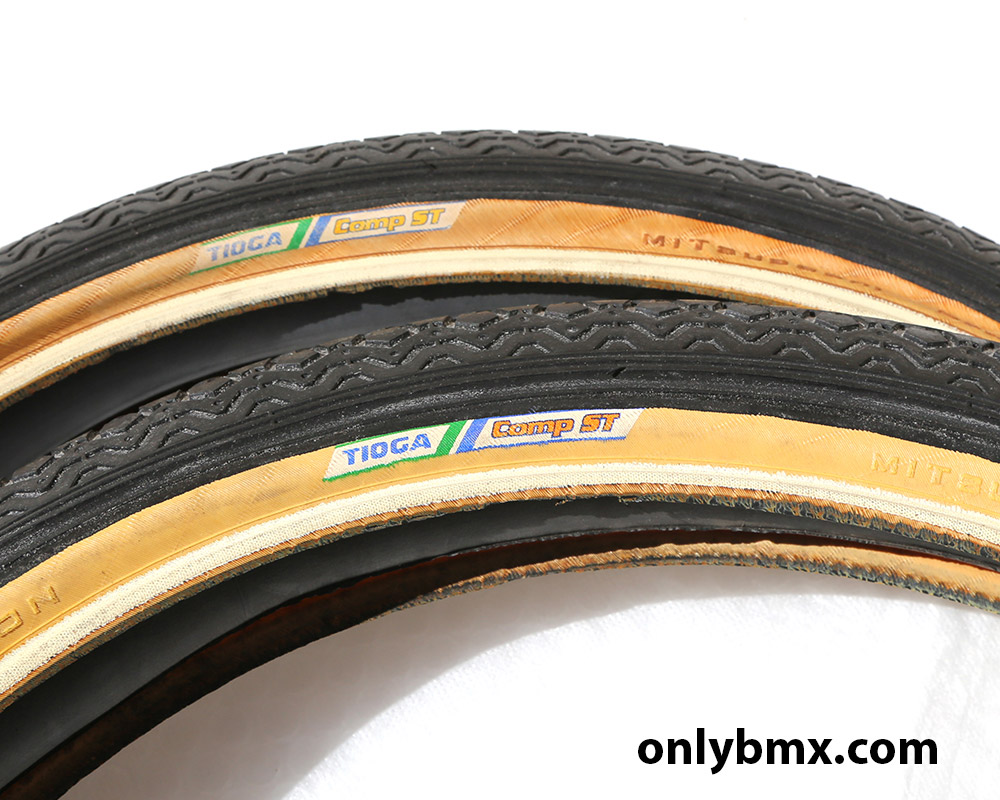 Two Tioga Comp ST Tyres
