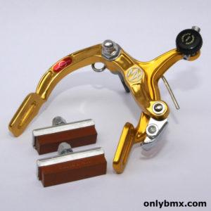 Dia Compe MX900 BMX Brake Caliper – NOS – Front – Gold – 1