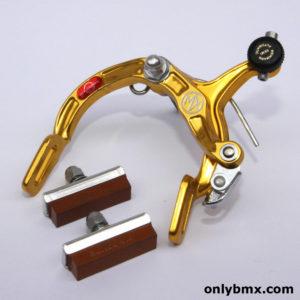 Dia Compe MX900 BMX Brake Caliper – NOS – Front – Gold – 2