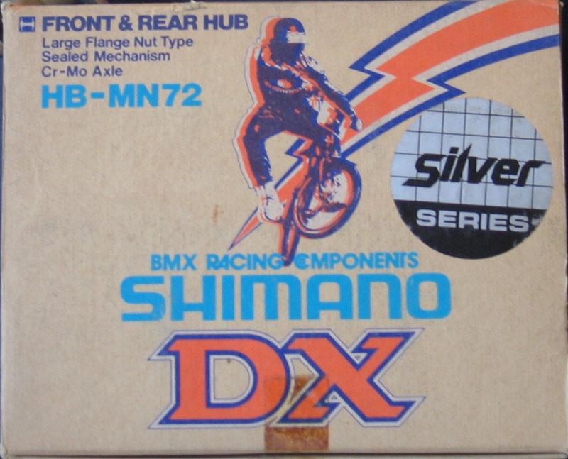 Shimano DX Silver Series BMX Hubs