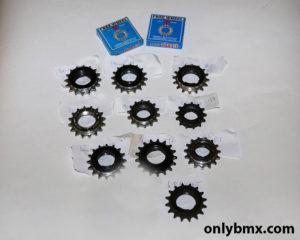 12 Screw on BMX freewheels – New and Used
