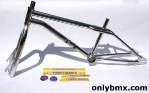 GT BMX Pro Performer BMX Frame Set – Chrome