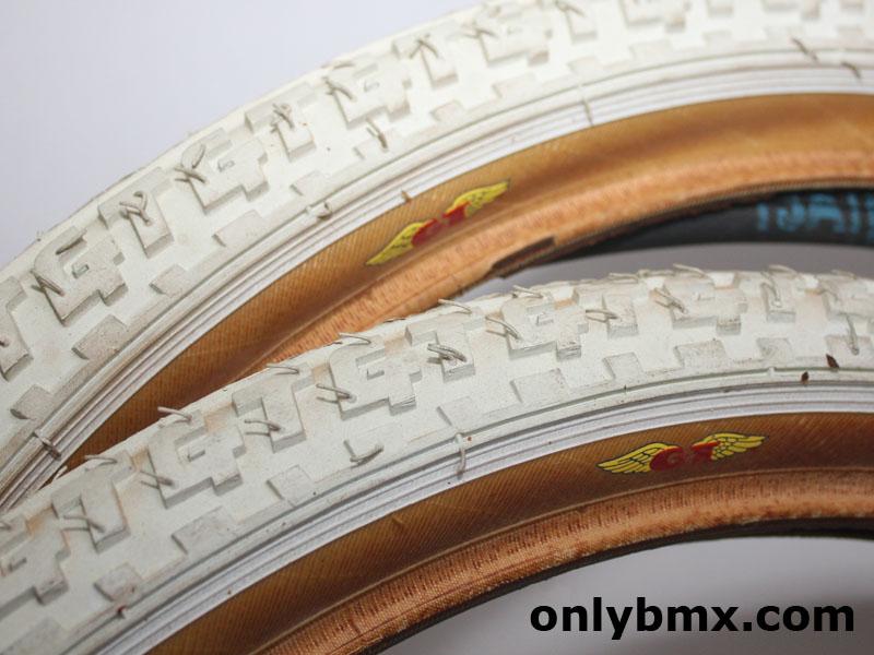GT BMX Tyres - White