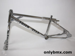 Hutch Trick Star BMX Frame Set – Chrome