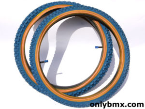 Panaracer Knarler Knobby BMX Tyres – Blue – NOS