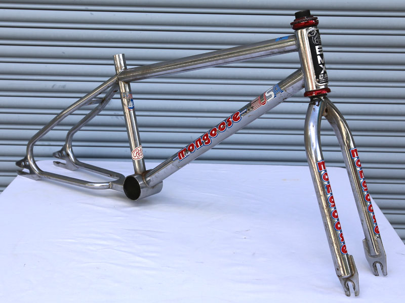 Mongoose 10th Anniversary frame set