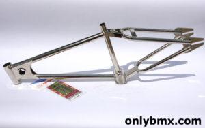 Mongoose Motomag BMX Frame – Nickel