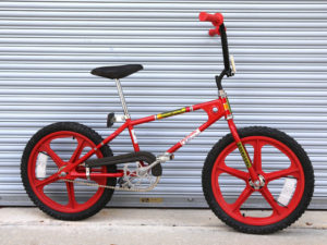 Mongoose Motomag BMX bike with Skyway Tuff Wheels