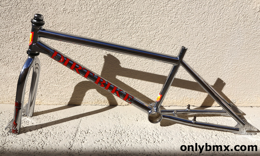 S&M Dirtbike BMX frame and matching Pitchforks for sale. Original ...