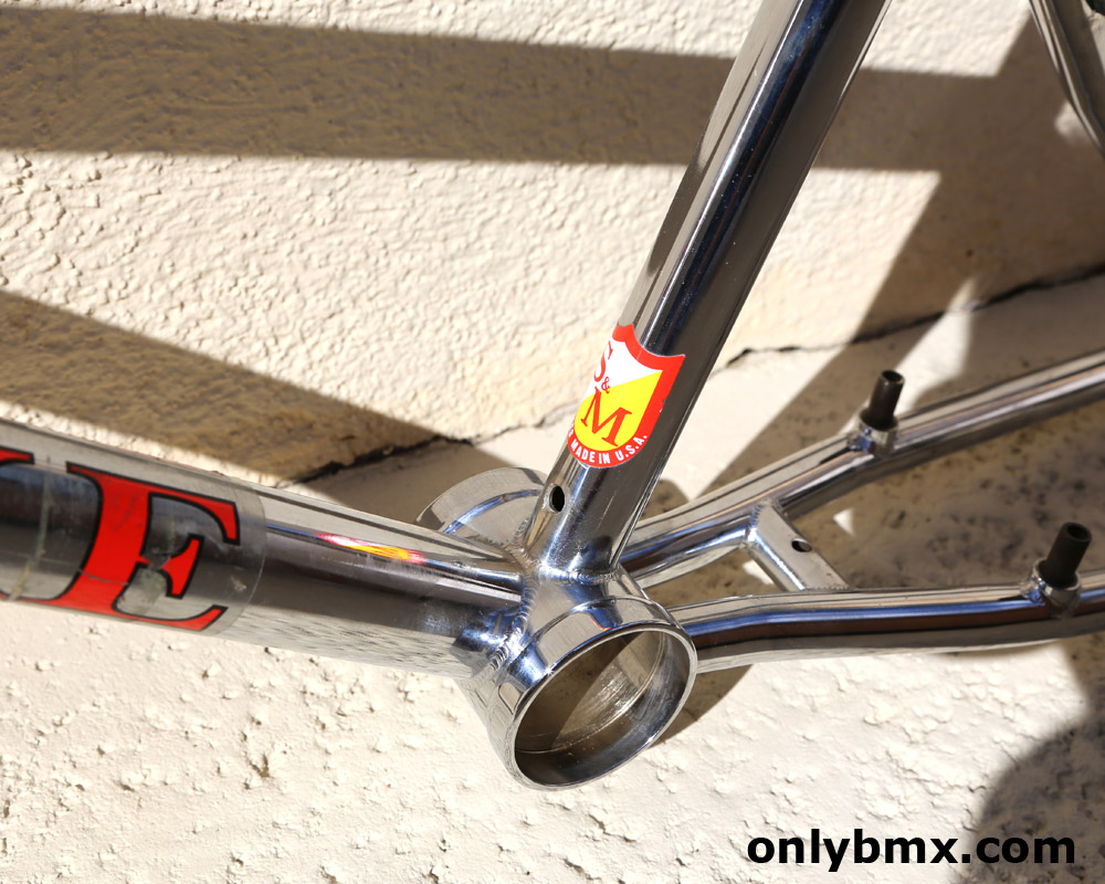 S&M Dirtbike Frame and Pitchforks
