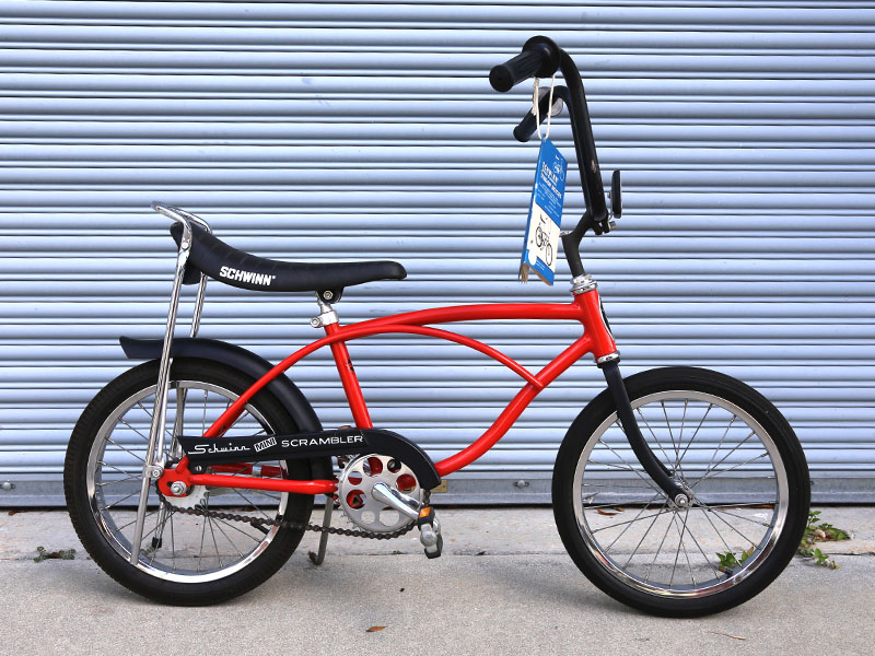 Schwinn Scrambler and Mini Scrambler bicycles
