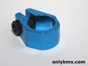 X-Caliber Style BMX Seat Post Clamp – Blue – NOS