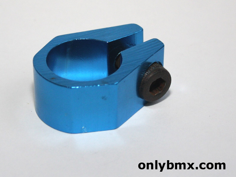 New Blue BMX Seat Post Clamp