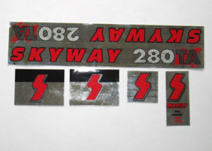 Skyway 280TA BMX Decal Set – NOS