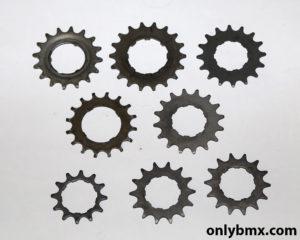 8 Rear BMX Sprockets For Cassette Hubs