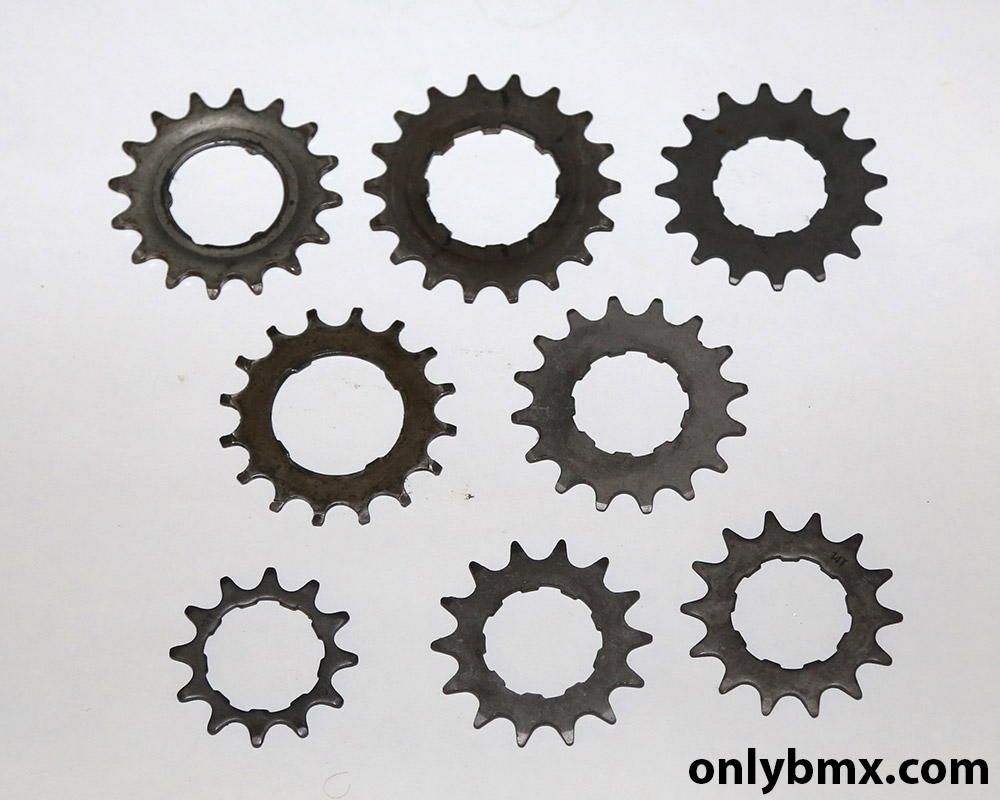 BMX rear sprockets for sale