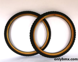 Tioga Competition 3 BMX Tyres – Black – Pair