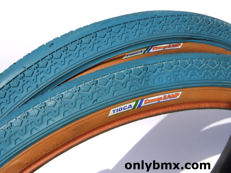 Tioga Comp Ramp Blue BMX Tyres