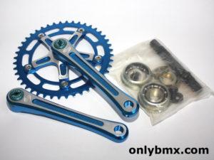Takagi Tourney Cranks – BMX – NOS – Blue