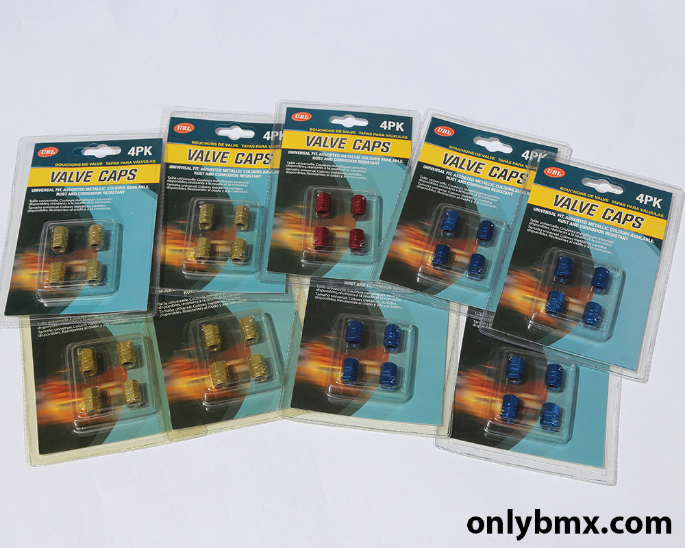 Anodised Valve Caps For BMX